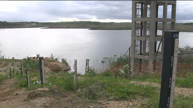 Boqueirão acumula pouco volume de água nos últimos dias - É que as águas do Rio São Francisco estão chegando mais devagar.