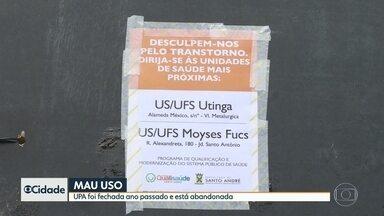 Sistema de saúde de Santo André está ainda mais sobrecarregado - A prefeitura fechou diversas unidades de saúde.