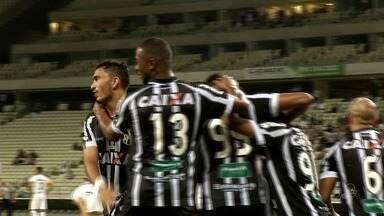 Ceará bate Criciúma e entra no G-4 da Série B - Ceará bate Criciúma e entra no G-4 da Série B.