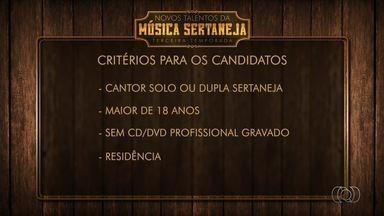TV Anhanguera lança concurso Novos Talentos da Música Sertaneja 2017 - Neste ano, a novidade é que o candidato não precisa ter nascido em Goiás, apenas morar no estado.