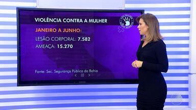 Bahia teve mais de 23 mil casos de violência contra a mulher, no primeiro semestre de 2017 - Nágila Brito, coordenadora do setor de Mulher em Situação de Violência Doméstica do Tribunal de Justiça da Bahia, comenta o assunto.