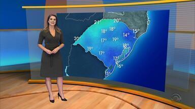 Tempo: amanhecer deve ser com temperaturas baixas na sexta-feira (4) no RS - Assista ao vídeo.