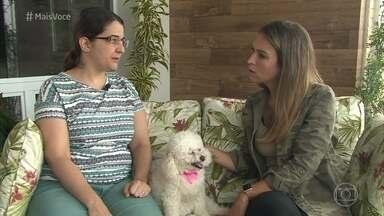 Cães farejadores ajudam na busca por animais perdidos - Trabalho dos cães facilita a localização em locais de difícil acesso