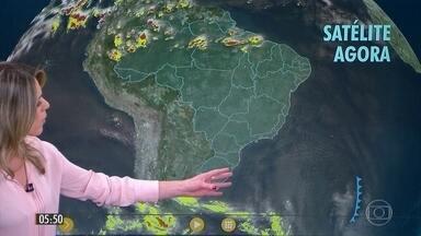 Confira a previsão do tempo para a segunda-feira (07) - Veja como fica o tempo em todo país.