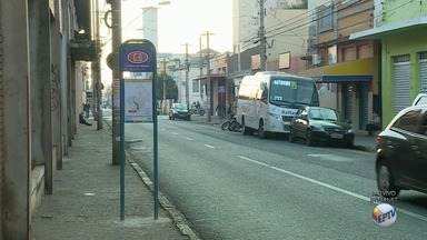Transerp instala novo ponto de ônibus na Rua Saldanha Marinho em Ribeirão Preto - Ao todo, 20 linhas passarão pelo trecho a partir desta segunda-feira (7).