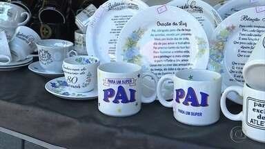 Dia dos Pais anima comércio em Belo Horizonte - Tem muita gente confiante nas boas vendas.
