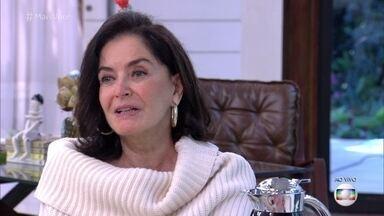 Glorinha Kalil lança livro sobre etiqueta para o ambiente profissional - Ana Maria Braga recebe a consultora na Casa de Cristal. O 'Mais Você' visita empresa que adota o figurino livre e informal para seus funcionários. Glória Kalil comenta