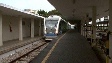 CBTU retoma viagens de trem entre Maceió e Rio Largo a partir desta segunda - Operações foram suspensas no final de junho após a Defesa Civil identificar risco de deslizamento de terra nos trilhos.