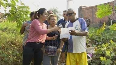 Moradores da rua Erson de Menezes pedem espaço de lazer, em RO - Rua está no bairro Areal, em Porto Velho.