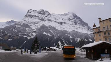 As Super Montanhas De Grindelwald