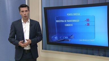 Ponta Grossa registra queda na geração de empregos em Junho - Apesar da queda, números do semestre continuam positivos