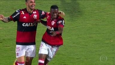 Flamengo goleia o Palestino por 5 a 0 pelo jogo de volta da Sul-Americana - Flamengo goleia o Palestino por 5 a 0 pelo jogo de volta da Sul-Americana