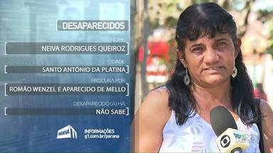 Desaparecidos: Noeli dos Santos e Neiva Rodrigues procuram parentes - Quem tiver informações sobre essas pessoas, entre em contato conosco.