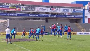 Paraná Clube quer segundo turno com sucesso desde o início - Primeiro jogo do Tricolor no returno da Série B é neste sábado (12), contra o ABC, na Vila Capanema, e o objetivo é retomar as vitórias imediatamente