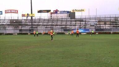 ASA se prepara para jogo contra o Salgueiro - O atacante Leandro Kível fala sobre o entrosamento do time.