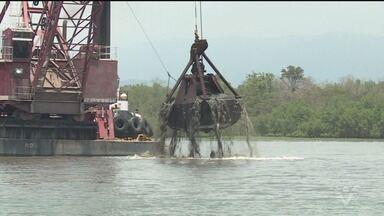 Justiça suspende obras de aprofundamento do Canal de Piaçaguera no Porto de Santos - Alegação é de que as intervenções podem ocasionar danos ambientais.