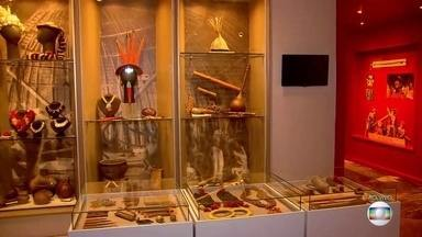 """Exposição promove viagem pela história de Pernambuco através de peças restauradas - Mostra """"Pernambuco: território e patrimônio de um povo"""" está no Museu do Estado, na Zona Norte do Recife, a partir desta quinta (10)."""