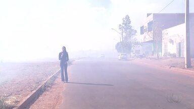 Maioria dos focos de queimadas no Tocantins estão dentro das cidades - Maioria dos focos de queimadas no Tocantins estão dentro das cidades