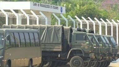 Operação do Exército faz varreduras nos presídios de Ariquemes, RO - Ação buscava encontrar objetos ilícitos.