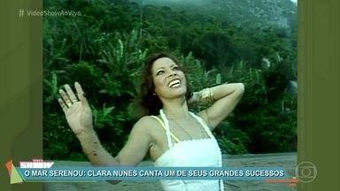 Cara Nunes completaria neste sábado 75 anos - Confira clipe de 'O Mar Serenou' em homenagem a este ícone da música brasileira