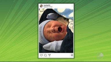 Inspirado por nascimento do filho, Zé Rafael quer brilhar em jogo contra o Atlético-PR - Times se encontram no próximo domingo (13) em Curitiba, terra natal do jogador que comemora a paternidade e o bom momento no Bahia.