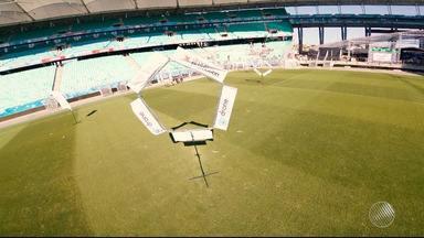 Corrida de drones é um dos destaques da Campus Party Bahia - Feira de tecnologia acontece na Arena Fonte Nova até domingo (13).