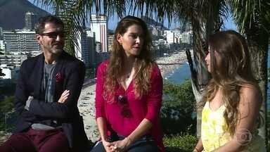 Nicola Siri e Lavínia Vlasak relembram o romance do padre Pedro e Estela - Par romântico fez sucesso na novela 'Mulheres Apaixonadas', de Manoel Carlos
