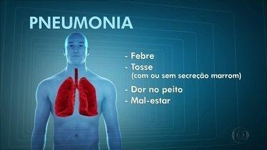 Médicos explicam como identificar e tratar a pneumonia - É preciso ficar atento aos sinais dessa doença que provoca inflamação nos pulmões e procurar atendimento médico.