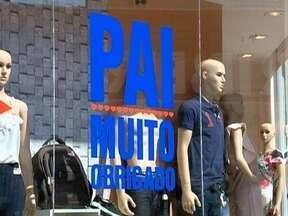 Comércio no Oeste Paulista espera faturar com o Dia dos Pais - Associação de lojistas espera vender 6% a mais que o ano passado.