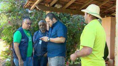 Município de Bambuí é utilizado para teste do Censo Agropecuário - Levantamento será feito em todo o Brasil em outubro de 2017 por recenseadores do IBGE.
