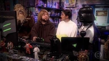 Darth Vader recebe filhos e faz gameplay de Overcooked - É um sonho? Realidade? Uma simulação do Zero1?