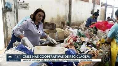 Crise piora índice de reciclagem em São Paulo - As pessoas estão consumindo menos, reciclando menos e mais gente foi para as ruas para catar material para vender.
