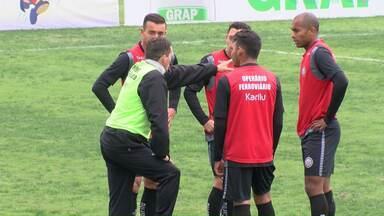Operário vai com força máxima para o primeiro jogo das semifinais - Fantasma jogo no domingo contra o Atlético, em Rio Branco no Acre