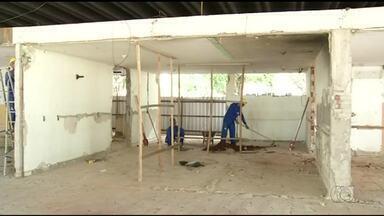Obras da rodoviária de Araguaína são retomadas; prédio deve ficar pronto em 6 meses - Obras da rodoviária de Araguaína são retomadas; prédio deve ficar pronto em 6 meses