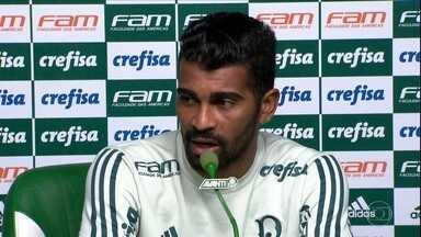 Thiago Santos conta como quer ajudar o Palmeiras no segundo turno do Brasileiro - Thiago Santos conta como quer ajudar o Palmeiras no segundo turno do Brasileiro