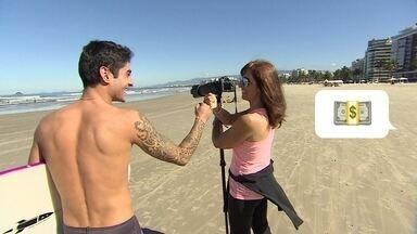 Startup ajuda fotógrafos a registrarem as manobras radicais de surfistas - Fotógrafo tira as fotos, posta no app e diz onde fez as imagens. Surfista entra, procura sua imagem e compra se gostou.