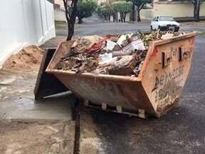 Prefeitura de Dracena proíbe descartes de materiais de construção em aterro - Com isso, quem trabalha com caçambas tem dificuldades para jogar este tipo de lixo.