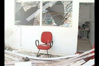 Posto bancário é destruído em Pau D'Arco, no sudeste do Pará - Este foi o quinto ataque à agências bancárias no Pará só neste mês de agosto.