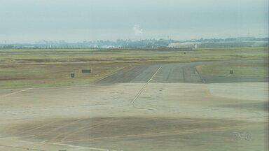Aeroporto de Maringá vai receber dinheiro para investimentos - Pista deve ser ampliada