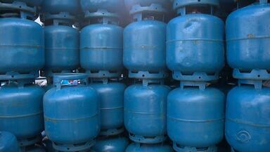 Preço no gás de cozinha registra aumento no Rio Grande do Sul - O valor do gás industrial também aumentou em 7,2%.