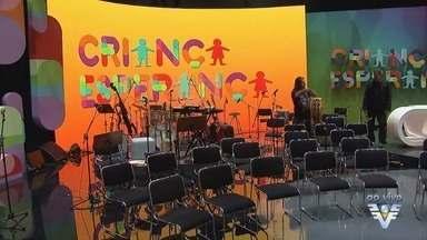 Criança Esperança ocorre neste domingo - Equipe da TV Tribuna foi ao Rio de Janeiro para registrar a ação.