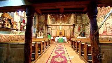Centenárias Igrejas de madeira da Eslováquia são patrimônio mundial - A mais antiga de todas é a de São Francisco de Assis, em Hervartov. Até hoje são os próprios moradores que cuidam das igrejas dos vilarejos.