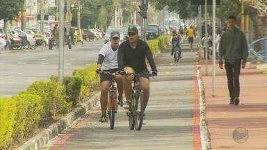 Ciclistas buscam melhorias nas pistas para bicicletas em Poços de Caldas, MG - Ciclistas buscam melhorias nas pistas para bicicletas em Poços de Caldas, MG