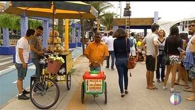 Macaé, RJ, recebe festival de gastronomia na Praia dos Cavaleiros - Assista a seguir.