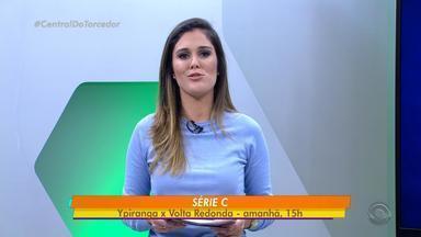 Pela série C, Ypiranga recebe o Volta Redonda neste domingo (20) - A partida acontece a partir das 15h, em Erechim.