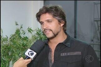 Dupla Victor e Leo se apresenta em Uberlândia em evento da Rádio Cultura FM - Show comemora aniversário do Praia Clube. MGTV conversou com um dos cantores.