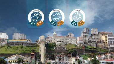 Confira a previsão do tempo para o fim de semana - Saiba como fica o tempo no estado.