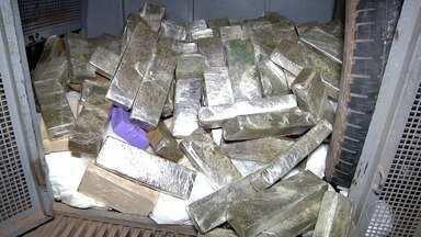 PM apreende 187kg de drogas em uma casa em Grussaí, no Rio - Confira a seguir.