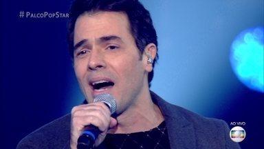Claudio Lins canta 'Oceano', de Djavan - Confira apresentação do ator em mais uma tarde do 'PopStar'