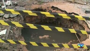 Moradores em bairro em São Luís reclamam de falta de água - Situação ocorre entre os moradores do bairro Anjo da Guarda, na capital.